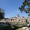 09パレンケ遺跡 オルトゥム川越しの宮殿