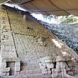 17コパン遺跡 神聖文字の階段