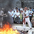29ティカル遺跡 儀式