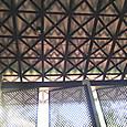 17ヨガセンターの窓と天井