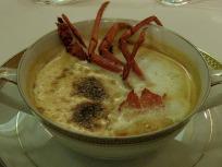 伊勢海老クリームスープ
