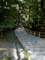 荒祭宮への階段