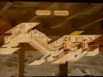 ネフェルタリの墓の説明板