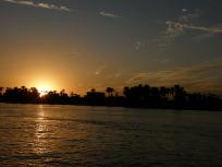 ナイルの夕陽