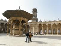 モスクの中庭