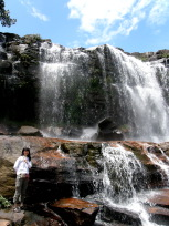 パチェコの滝と私