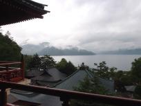 五大堂からの中禅寺湖