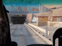 スエズトンネル入口