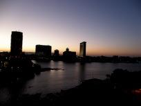 カイロの朝焼け