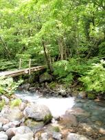 赤川にかかる橋