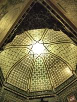 クサム・イブン・アッバース廟の天井