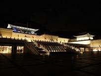故宮博物院ライトアップ