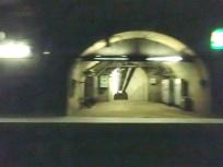青函トンネル通過中