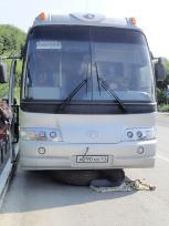 故障したバス