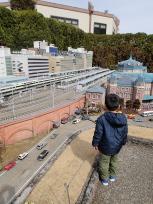 東京駅と甥っ子