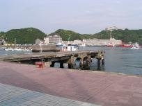 紀伊勝浦の港