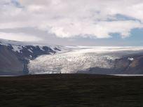 右側の氷河