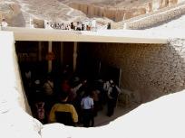 ツタンカーメンのお墓の入口