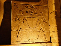 エジプト統一の壁画