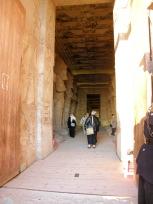 アブシンベル神殿内部