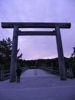 朝の宇治橋
