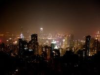 ビクトリアピークからの夜景
