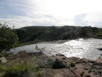 カマの滝上流