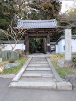 正伝寺入口