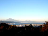 日本平山頂展望台から