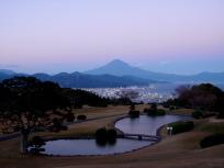 日本平ホテル庭園から