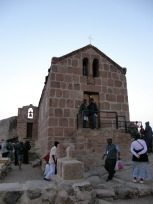 シナイ山頂の教会
