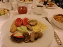 シェラトンの朝食
