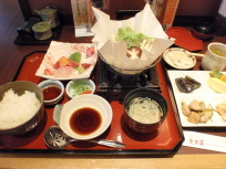 豆腐メインのおばんざいセット