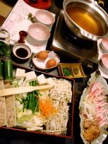 夕食さくら鍋