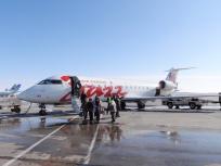 イエローナイフ空港