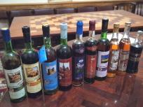 試飲したワイン達のボトル