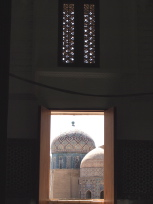 クサム・イブン・アッバース廟の中庭