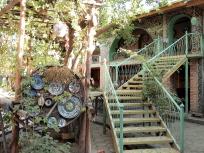 陶器工房中庭