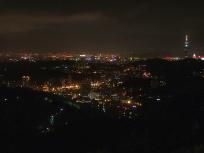 茶芸館からの台北夜景