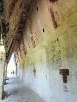 宮殿内部のマヤアーチ