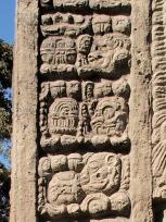 石碑Aのマヤ文字