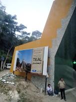 ティカル遺跡入口