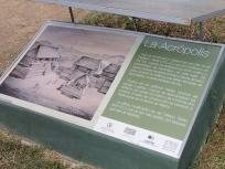 アクロポリスの説明板