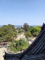 小田原城天守閣からの眺め