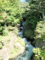 竜頭の滝上流