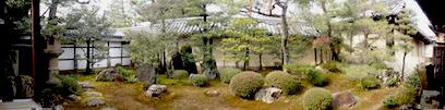 東海一連の庭