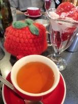 ラズベリーサンデーと紅茶