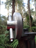 木の高さを測る機械