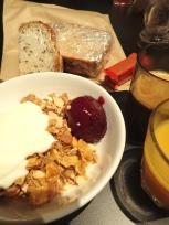 朝食とランチ