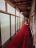 大正棟の廊下
